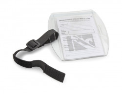Medical card Arm band